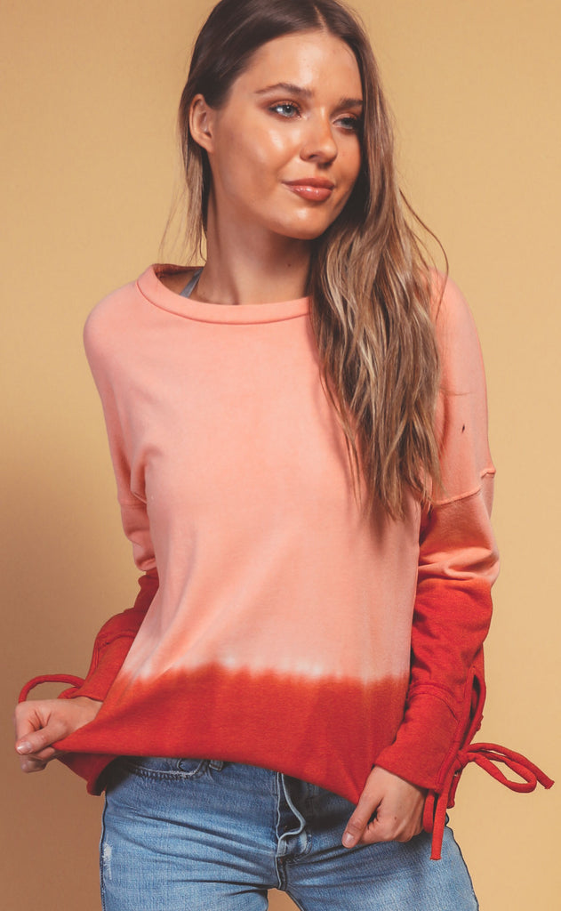 keep it cool ombre top - pink