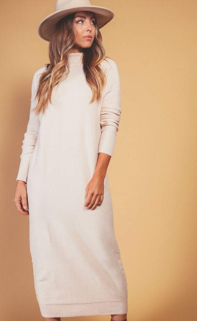 camp dress - cream