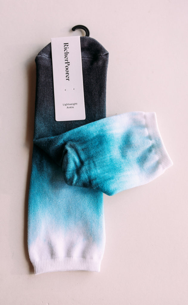 richer poorer: hofman sock - hyper blue