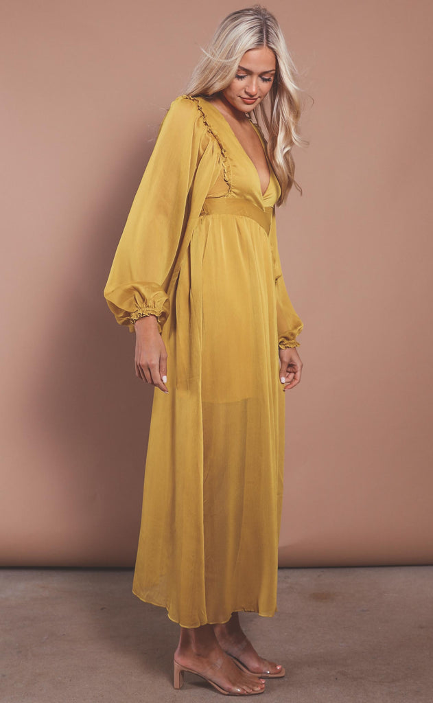 my sunshine wrap dress