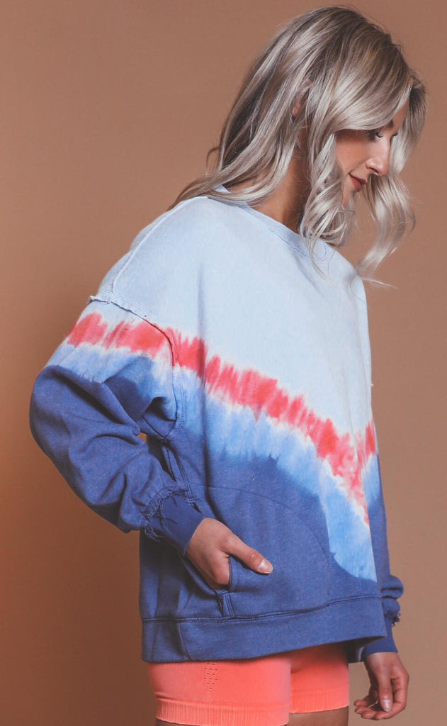 free people movement: ombre metti crew - aurora blue