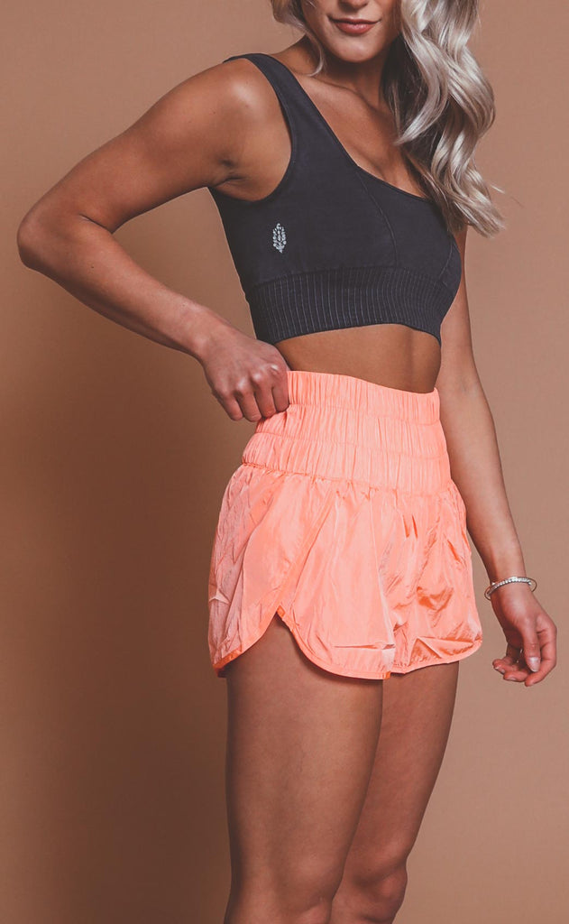 free people movement: the way home shorts - papaya punch