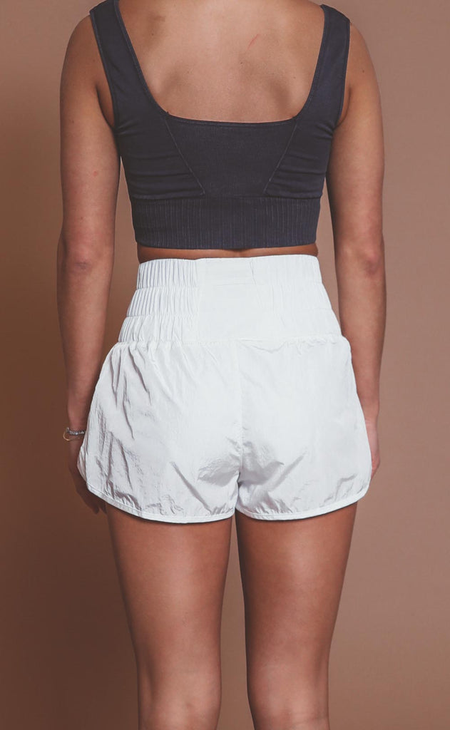 free people movement: the way home shorts - optic white