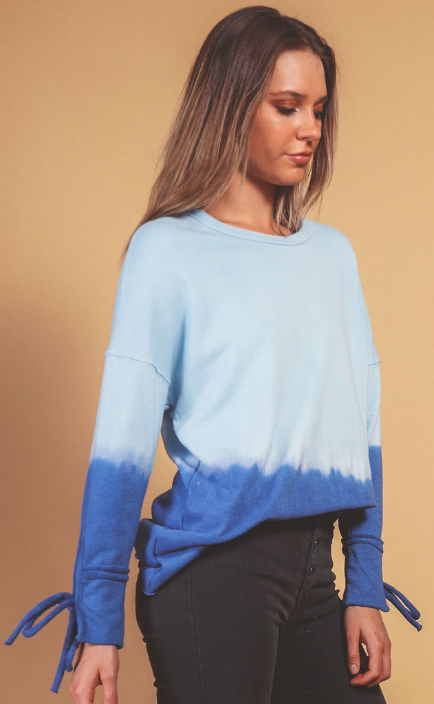 keep it cool ombre top - blue