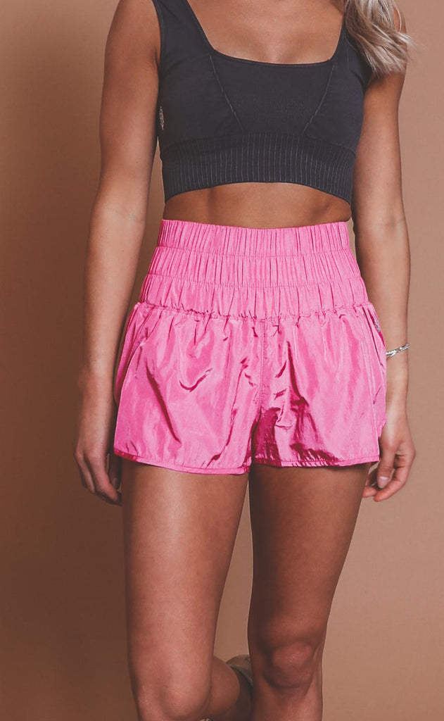 free people movement: the way home shorts - vivacious violet