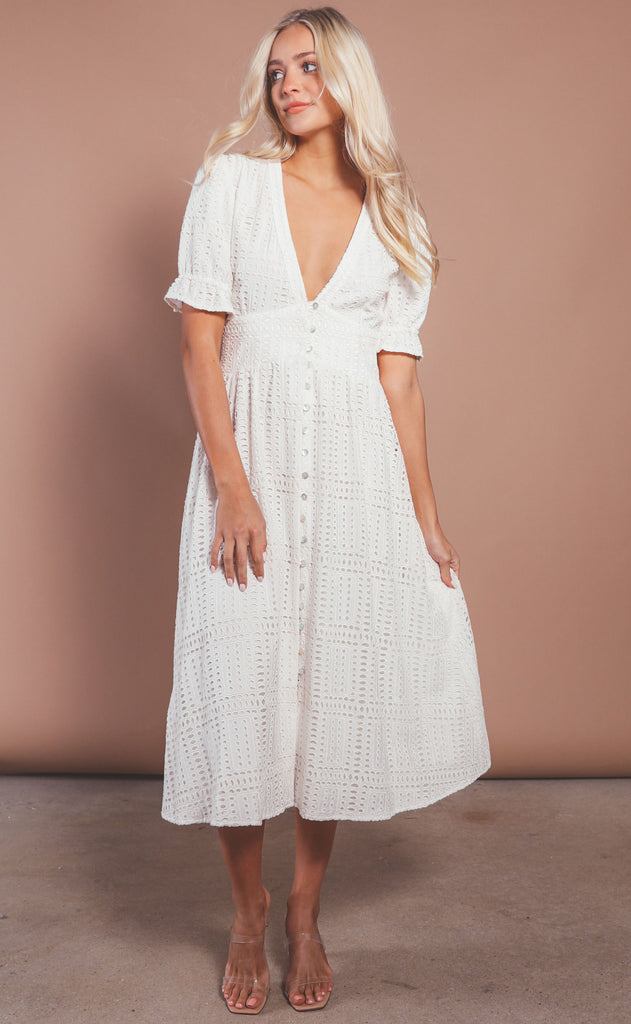 monte the label: auxanna dress - milk punch