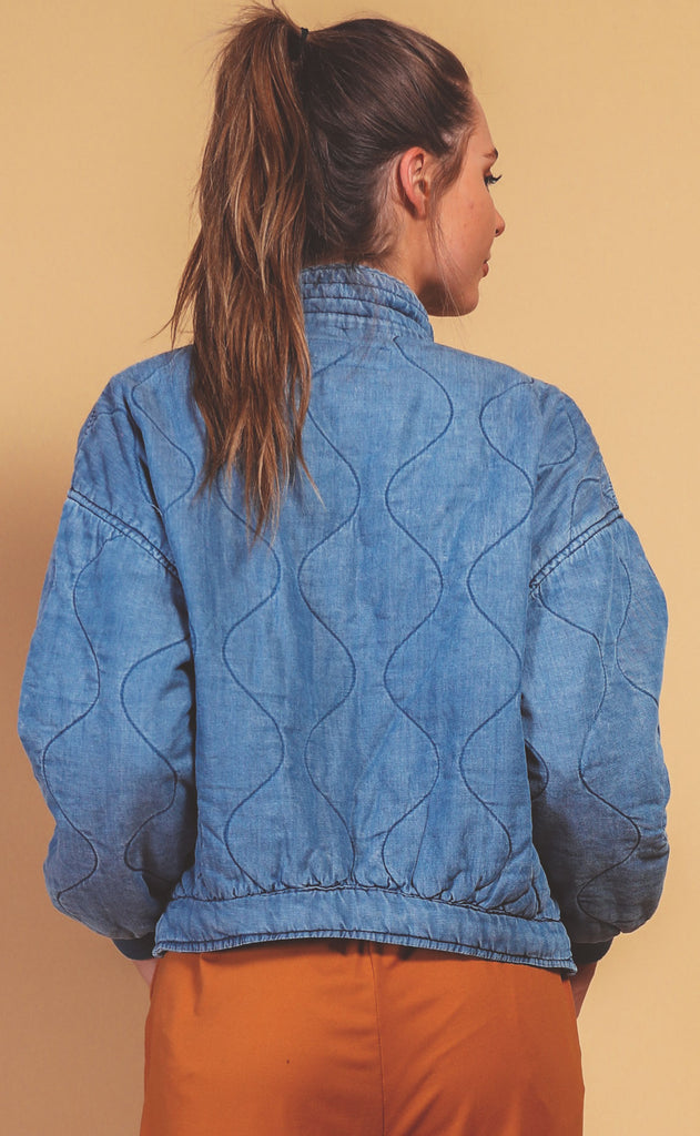 blank nyc: ocean eyes jacket