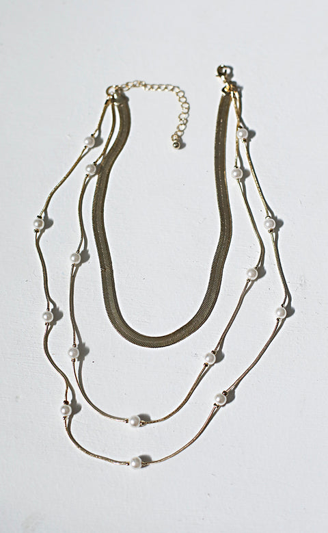 prized pearls layered necklace