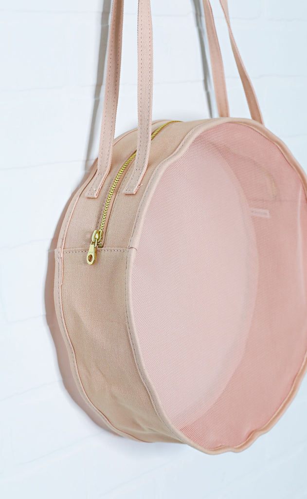 ban.do: seeing things circle bag - pink