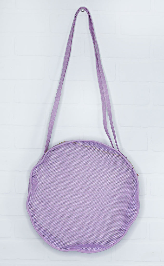 ban.do: seeing things circle bag - lilac