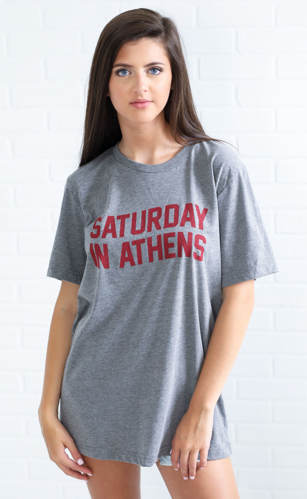 charlie southern: saturday in athens t shirt