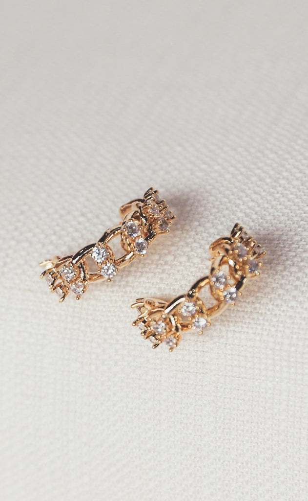 bracha: jonsey chain earrings