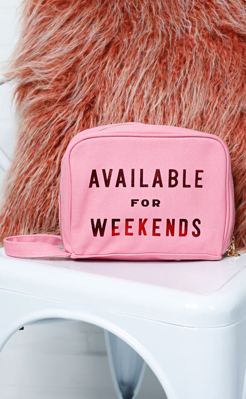 ban.do: the getaway toiletries bag - available for weekends