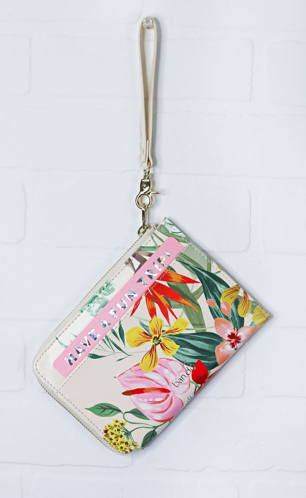 ban.do: the getaway travel clutch - paradiso