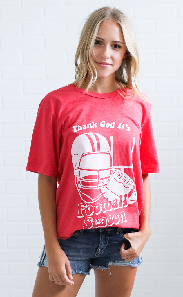 charlie southern: thank god it's football season t shirt