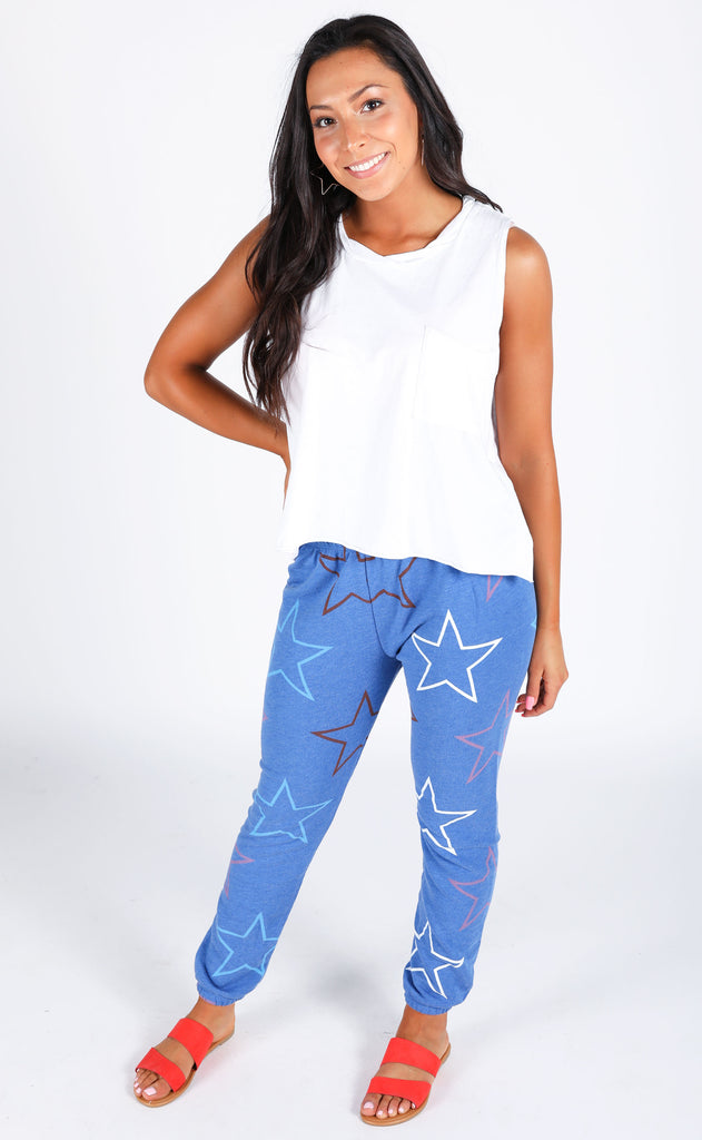 wildfox: knox pants - starlight