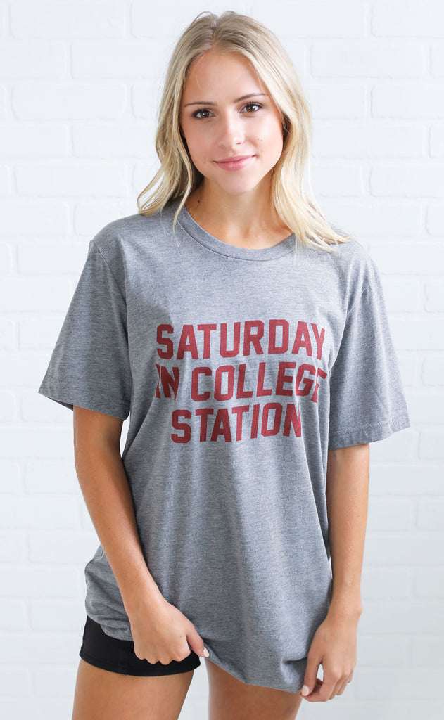 charlie southern: saturday in college station t shirt