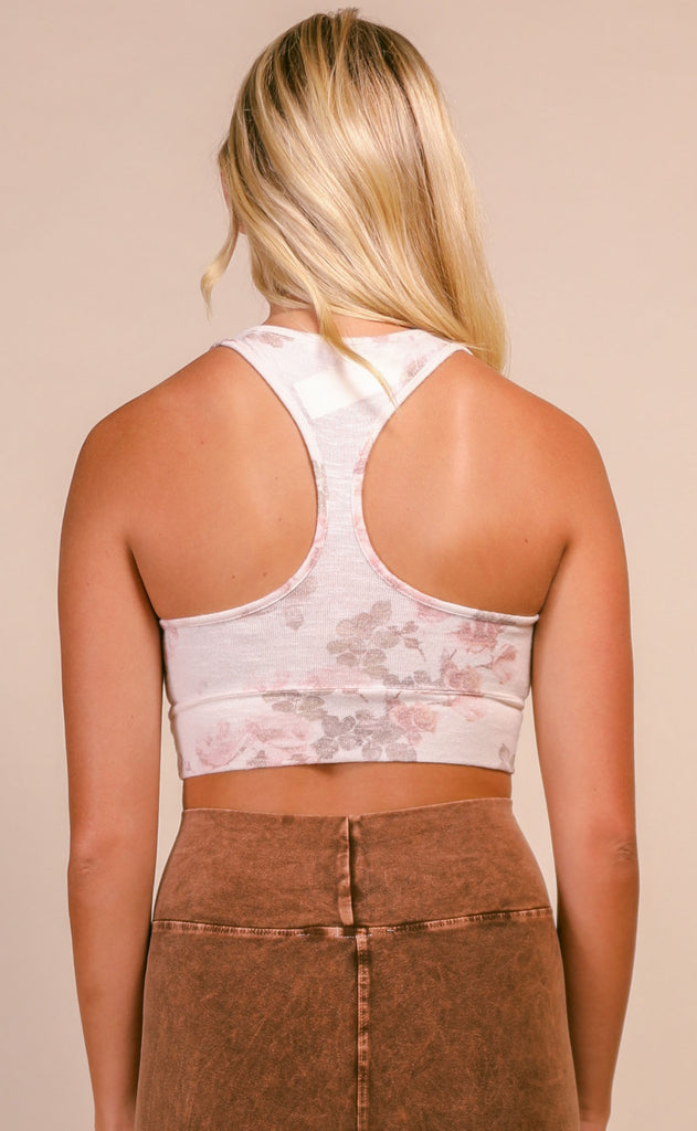 z supply: sia floral tank bra