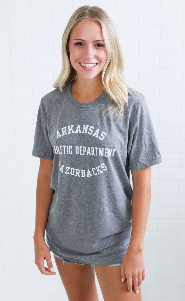razorback athletic department t shirt