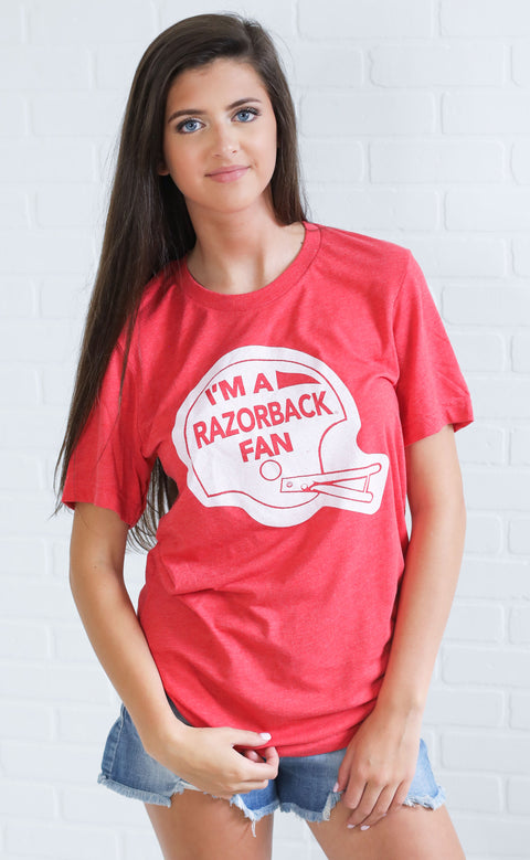 razorback fan t shirt