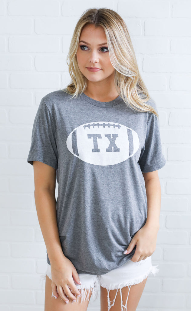 charlie southern: texas state football t shirt