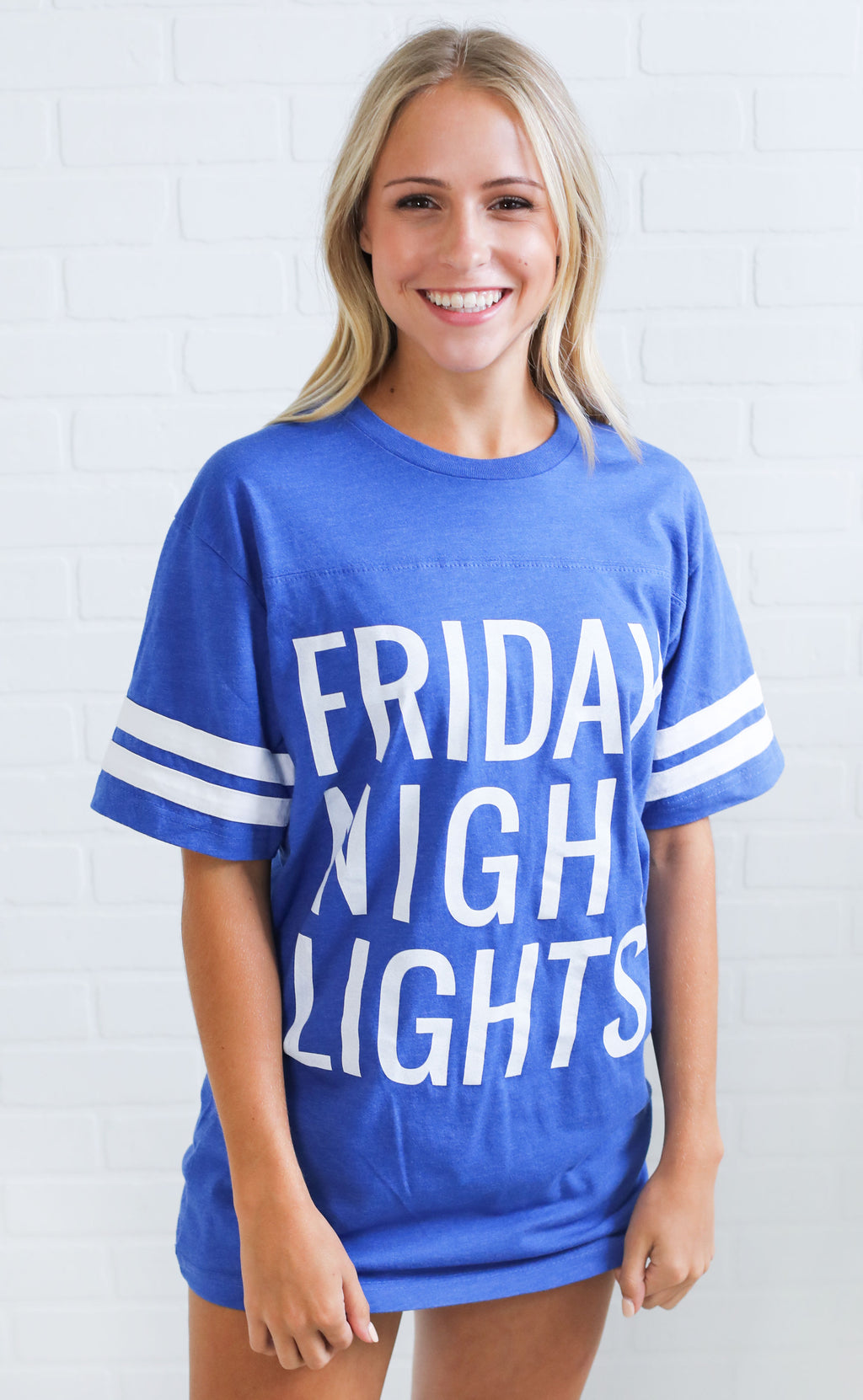 charlie southern: friday night lights jersey - blue