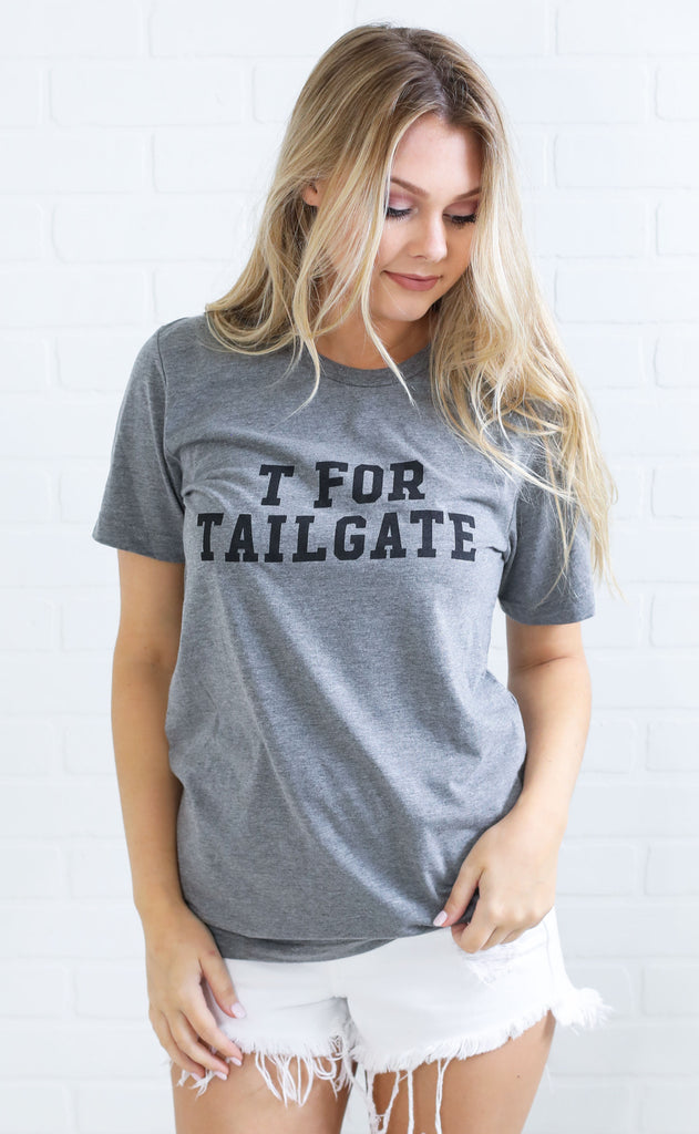 charlie southern: t for tailgate t shirt