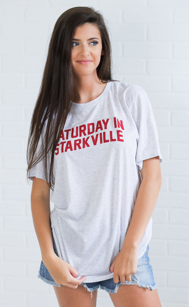 charlie southern: saturday in starkville t shirt