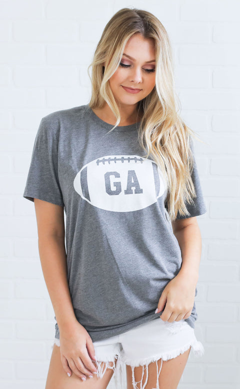 charlie southern: georgia state football t shirt