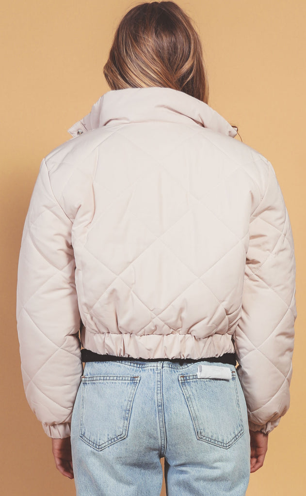 blank nyc: alpine snow jacket
