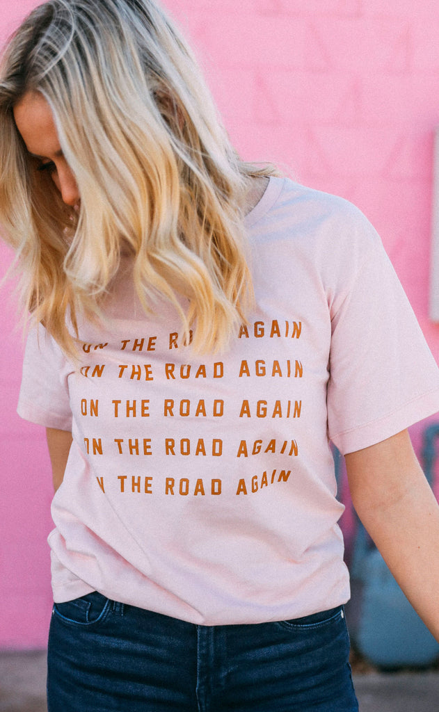 charlie southern: on the road again t shirt