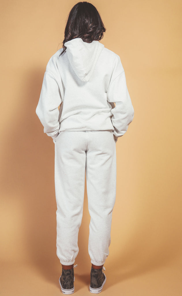 ultimate oversized sweat set - cream