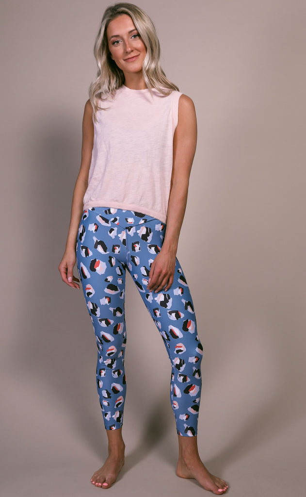 beach riot: cara legging - multi spot