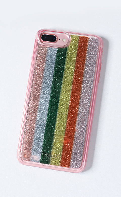 ban.do: glitterbomb iphone 7 plus case - color wheel