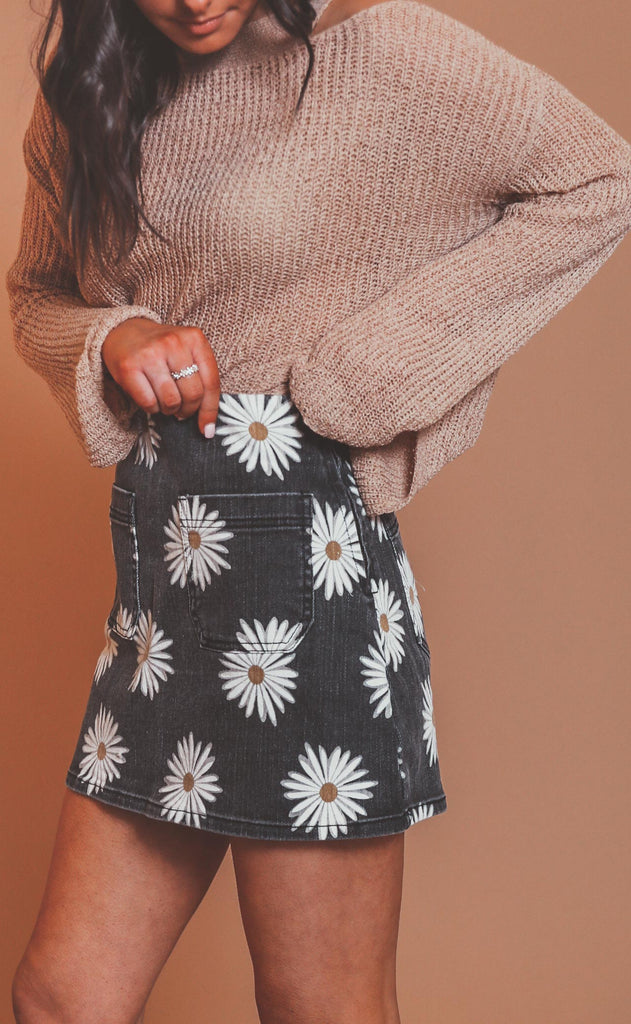 show me your mumu: rex mini skirt - daisy love
