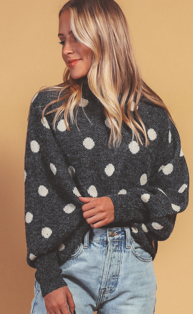 blank nyc: classic mix up sweater