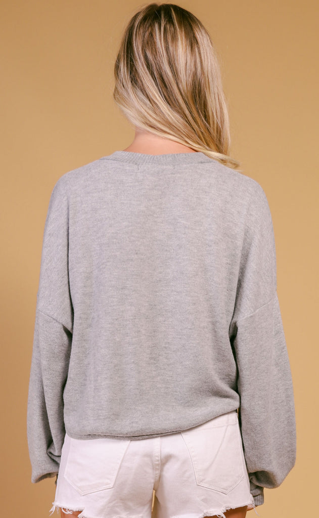 project social t: lenora long sleeve sweatshirt