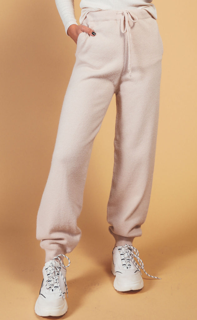 road to cozy sweater knit jogger