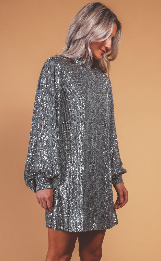 after midnight sequin dress
