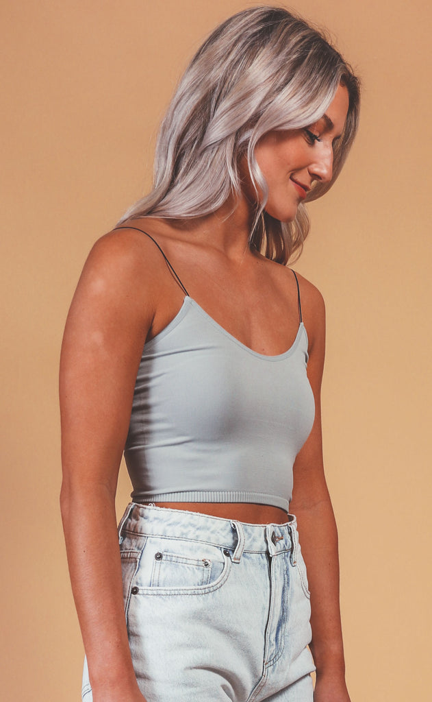 live in this seamless brami -  pewter