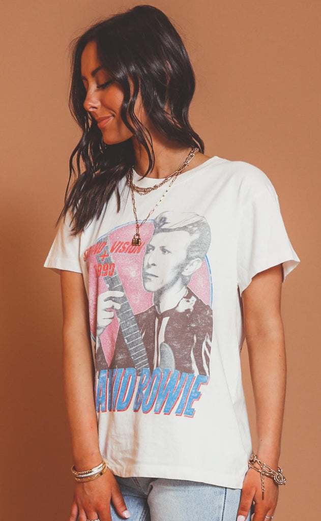 daydreamer: david bowie sound and vision tour tee