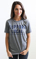 charlie southern: support local t shirt
