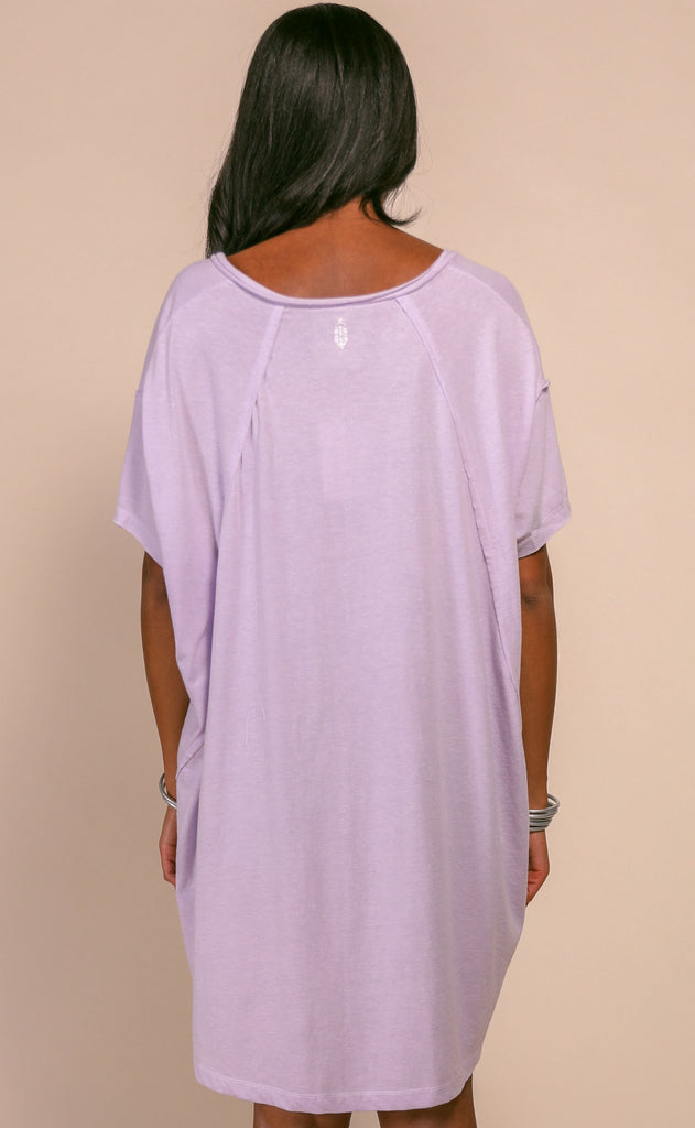 free people movement: city vibes tee - lavender dust