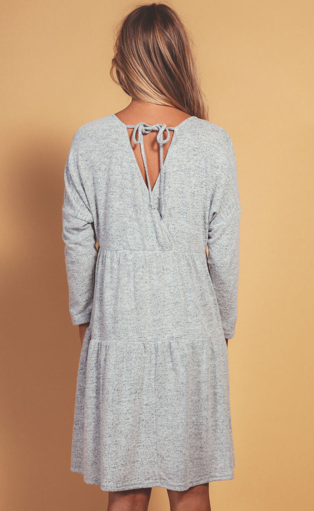 cozy casual babydoll dress