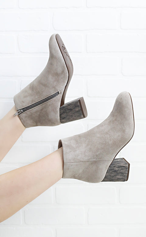 seychelles: audition suede bootie