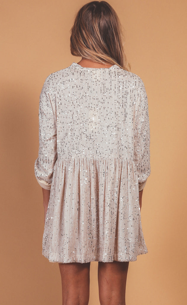 on the dance floor sequin tunic