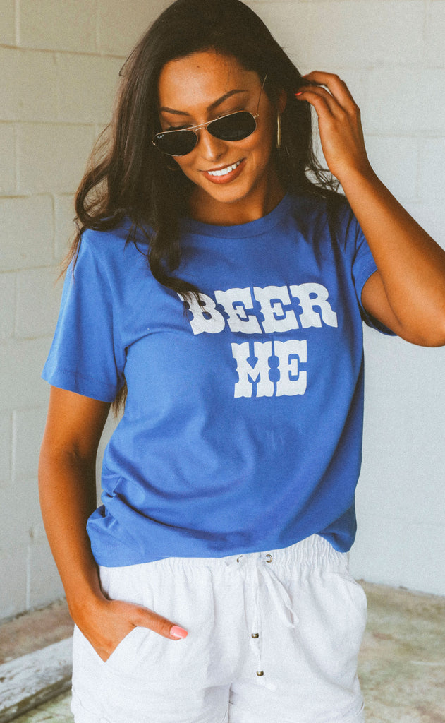 charlie southern: beer me t shirt