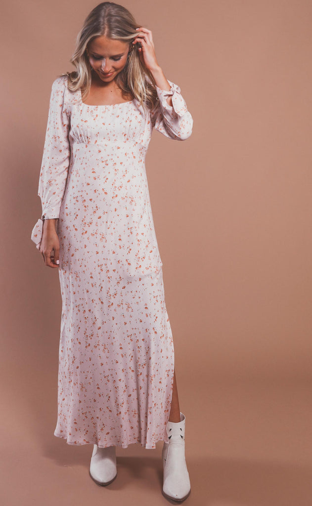 times like this floral maxi dress
