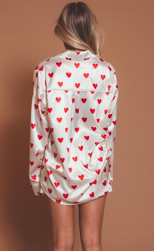 show me your mumu: favorite pj set - queen of hearts