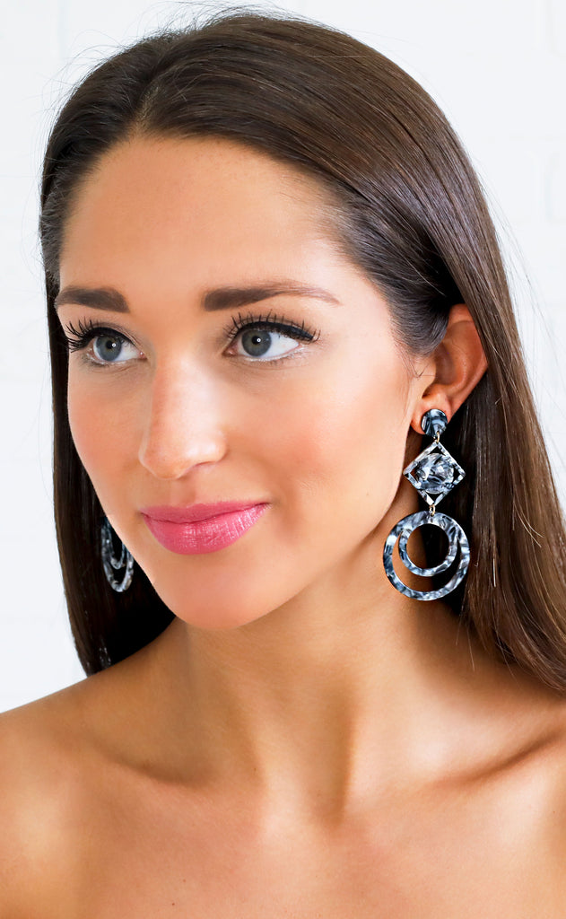 hollywood glam statement earring
